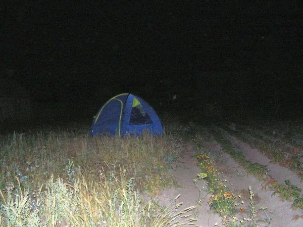 Рис.2.11. «Ночная» палатка облегчит ночевку знойным летом