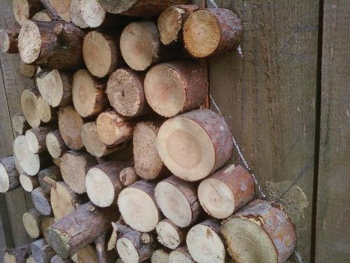 Рис.3.3. Способ закрепления деревянных чушек на заборе