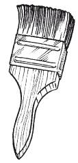 Рис. 35. Кисть для покрытия полов лаком