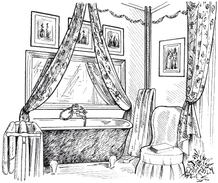 Рис.12. Ванная комната в английском стиле