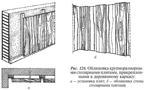 10.Облицовка листовыми и плитными материалами на основе древесины