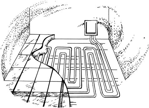 Теплый водяной пол