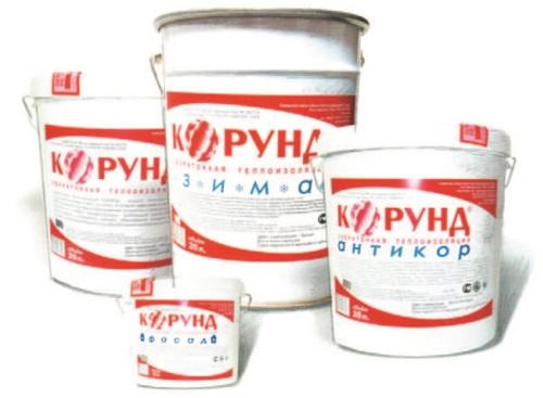 Рис. 31. Корунд – жидкая керамическая теплоизоляция
