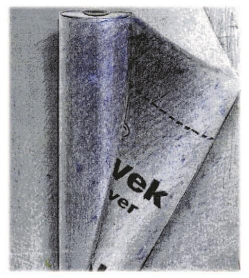 Рис. 49. Нетканый гидроизоляционный материал DuPont Tyvek