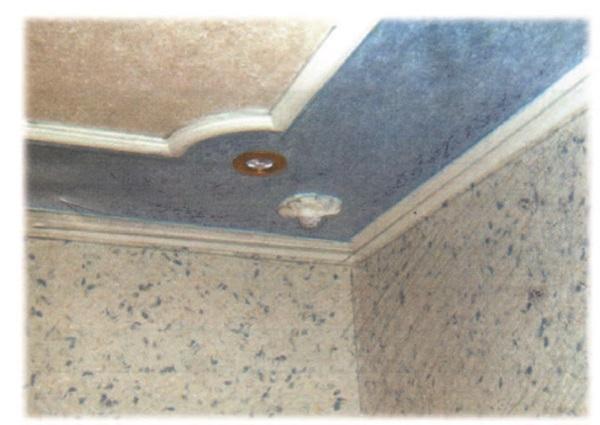 Рис. 87. Материал для отделки интерьеров домов. Отделка потолка