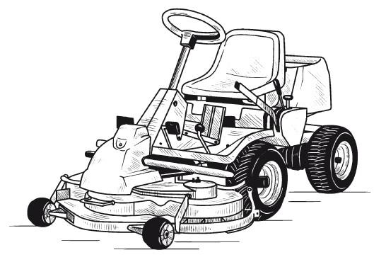Садовые мини-тракторы