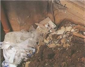Дренаж тоже защищает дом от сырости