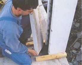 Большой шаг на пути к дому с низкой энергозатратой: толстые стены