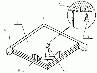 Устройство плиточного потолка без чернового каркаса