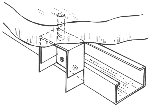 Монтаж металлического каркаса подвесного потолка