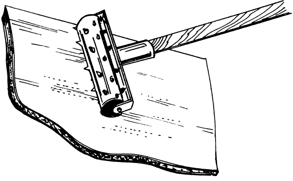 Рис.11. Игольчатый валик
