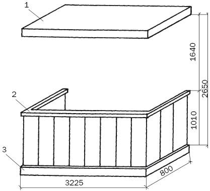 Типовые балконы и лоджии / балконы, лоджии, террасы, беседки.