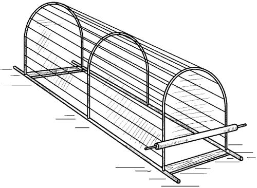 Рис. 103. Переносной проволочный каркас.