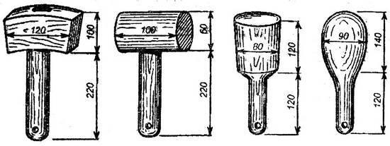 Молоток своими руками чертежи 435
