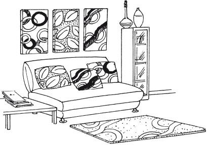 Рис.11. Картины из ткани