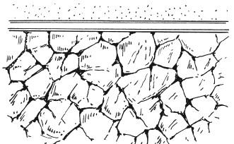 Рис.112. Образец стены, отделанной в технике кракле