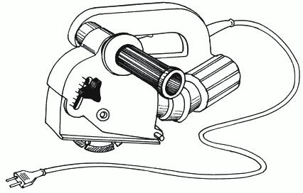 Рисунок 37. Модель современного штробореза