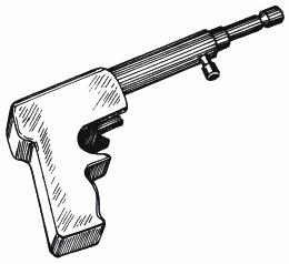 Рисунок 40. Модель монтажного пистолета