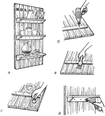 Стеллаж из дерева своими руками чертежи