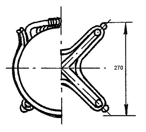 Рис. 48. Детский стул из мебельных палок