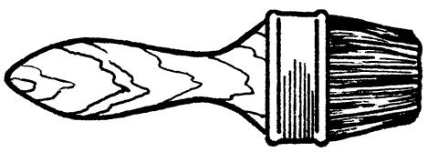 Рис. 9. Флейцевая кисть