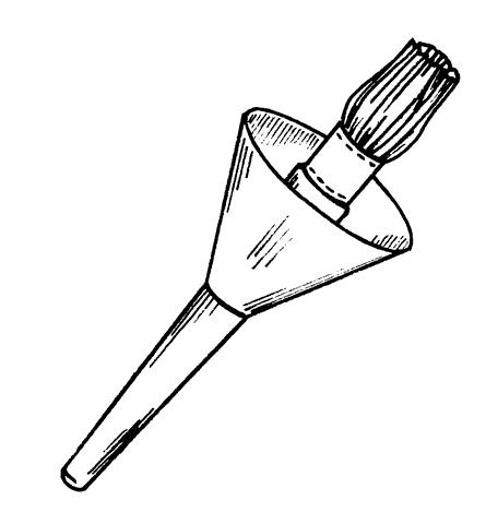 Рис. 13. Кисть для окраски потолков