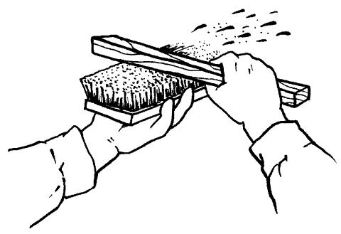 Рис. 16. Способы декоративного нанесения краски