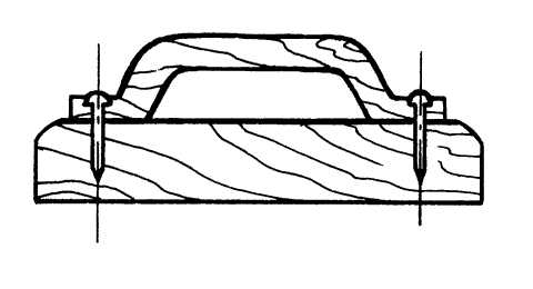 Рис. 31. Терка для разравнивания раствора