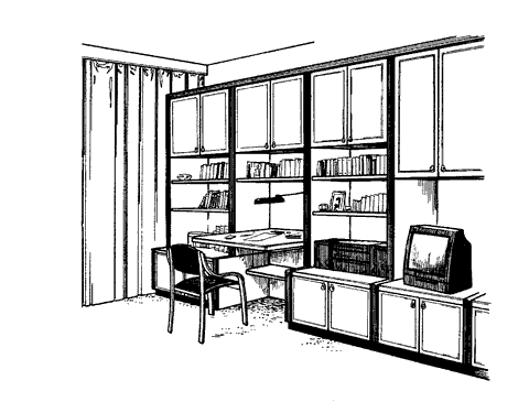 Рис. 41. Секционная мебель