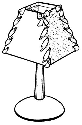 Рис. 69. Настольная лампа