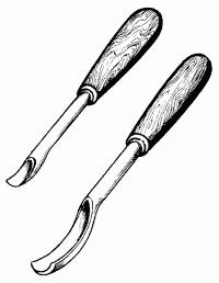 Стамески-клюкарзы