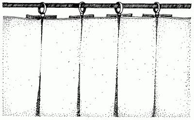Складки, выполненные вручную