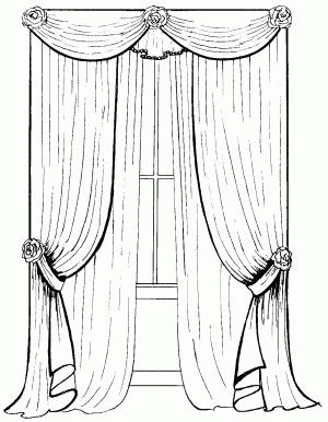 Горизонтальные драпировки-гирлянды Изготовление классического ламбрекена