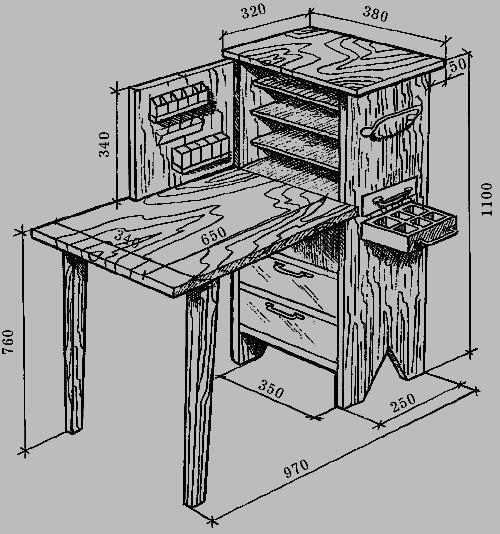 Шкафы своими руками из фанеры