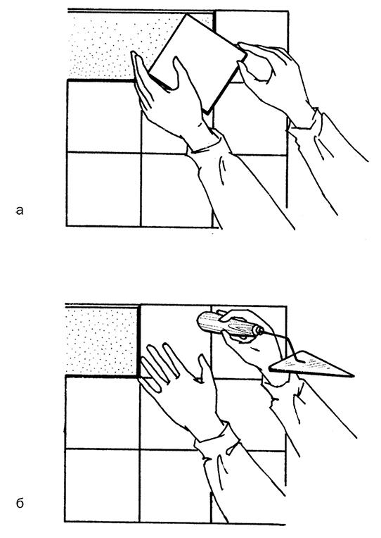 Техника кладки плитки