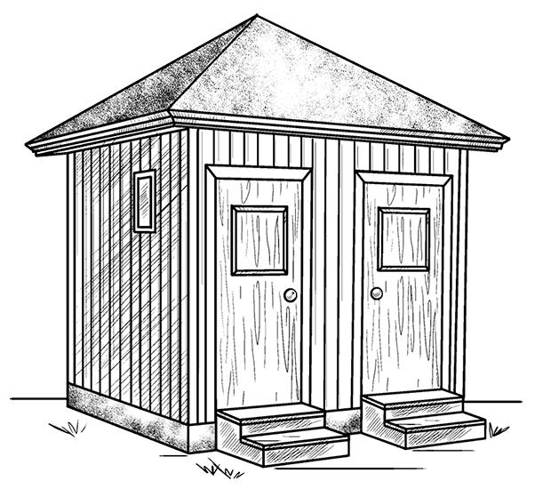 Душ, совмещенный с туалетом
