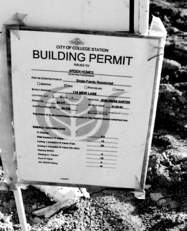 Разрешения на проведение работ
