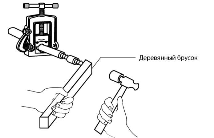 Работа с гибкими пластиковыми трубами