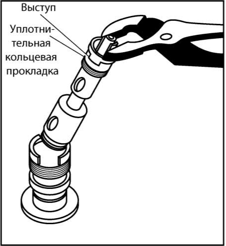 Ремонт протекающего водопроводного крана или смесителя