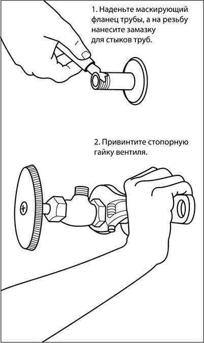 Установка дополнительных перекрывающих воду вентилей