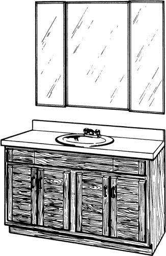 Установка моек и раковин