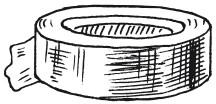Рис. 54. Изолента (скотч)