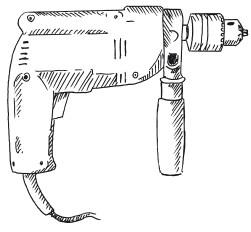 Рис. 59. Электродрель