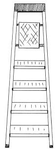 Рис. 63. Складная лестница