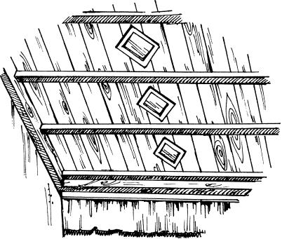 Деревянные доски и рейки