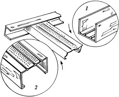 Материалы и инструменты для установки подвесного потолка