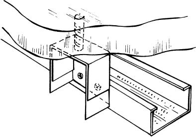 Монтаж простейшего одноуровневого подвесного потолка