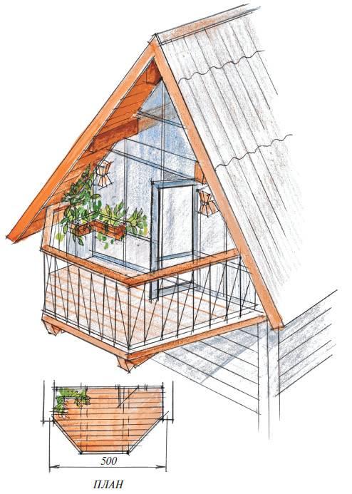 Мансардные окна и шторы