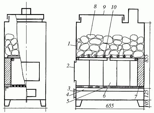 Печь-каменкапериодическогодействия