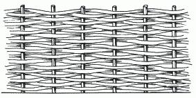 Рисунок 9. Плетень
